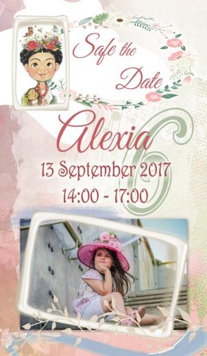 alexia 6 safe the date